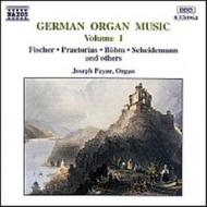 German Organ Music vol. 1 | Naxos 8550964