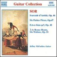 Sor - Guitar Music Op.46-48,50 & 51 | Naxos 8553985