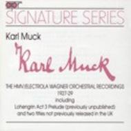 Karl Muck – The HMV/Electrola Wagner Orchestral Recordings 1927-29 | APR APR5521