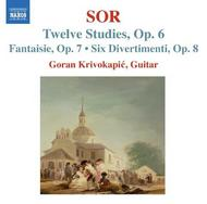 Sor - Guitar Music | Naxos 8570502
