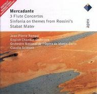 Mercadante - 3 Flute Concertos, Sinfonia on themes of Rossini�s Stabat Mater
