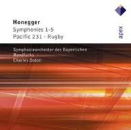Honegger - Symphonies 1-5, Pacific 231, Rugby