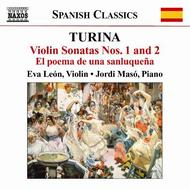 Turina - Music for Violin & Piano | Naxos 8570402