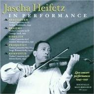 Jascha Heifetz In Performance - Concert Recordings 1945-1951