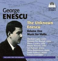 The Unknown Enescu Vol.1: Music for Violin | Toccata Classics TOCC0047