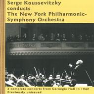 Serge Koussevitsky conducts the New York Philharmonic-Symphony Orchestra