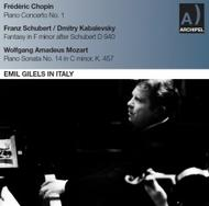 Emil Gilels in Italy | Archipel ARPCD0547