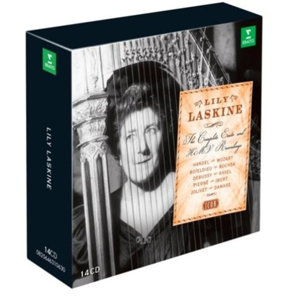 Lily Laskine: The Complete Erato & HMV Recordings