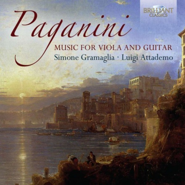 Paganini - Music for Guitar and Viola | Brilliant Classics 94963