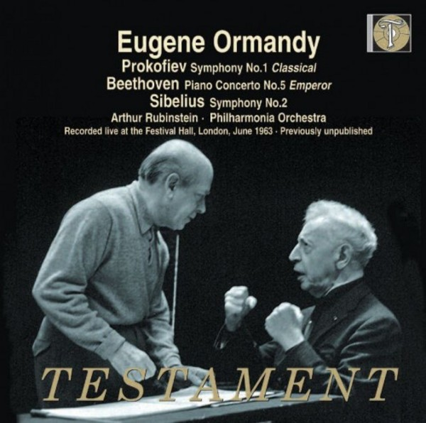 Ormandy conducts Prokofiev, Beethoven and Sibelius