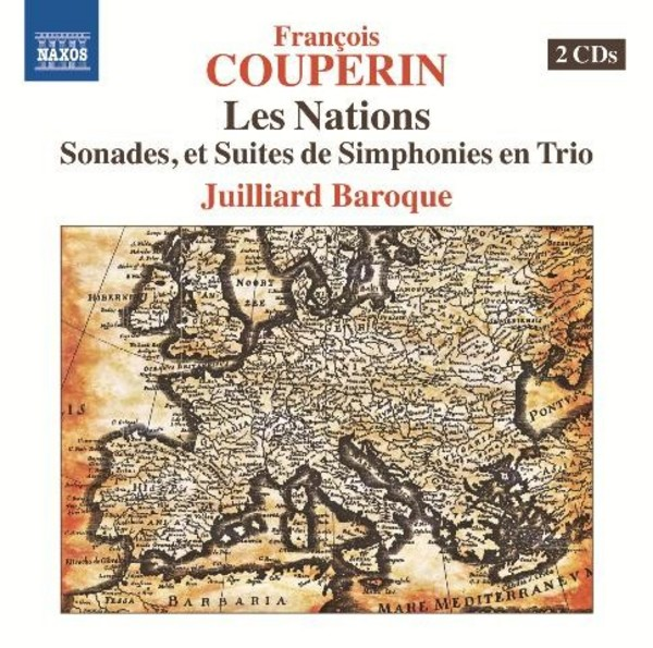 Francois Couperin - Les Nations | Naxos 857334748