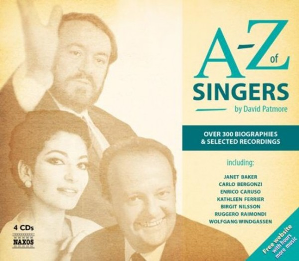 David Patmore: A-Z of Singers