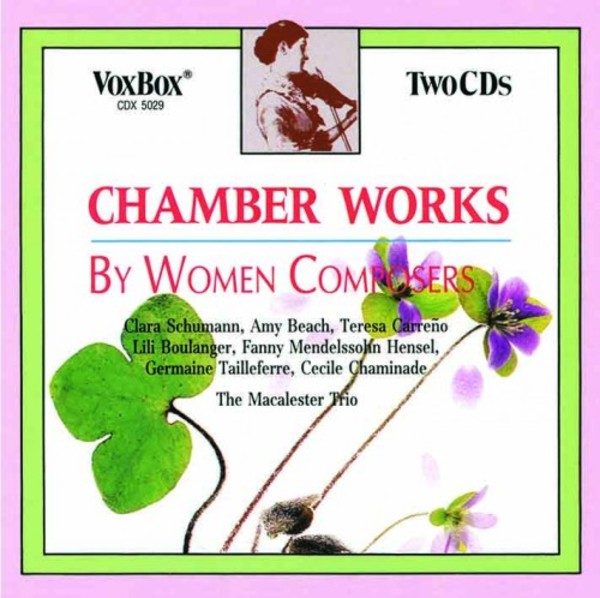 Chamber Music by Women Composers | Vox Classics CDX5029