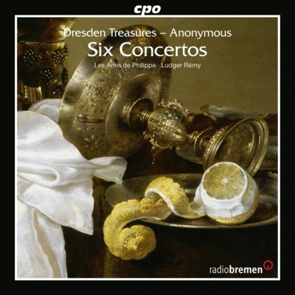 Dresden Treasures: Six Concertos | CPO 7777802