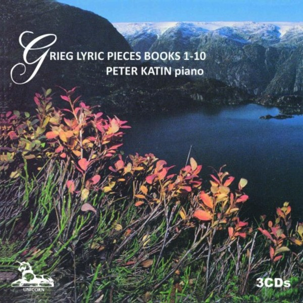 Grieg - Lyric Pieces Books 1-10