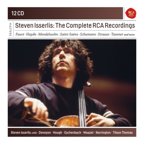 Steven Isserlis: The Complete RCA Recordings | Sony - Classical Masters 88985312572