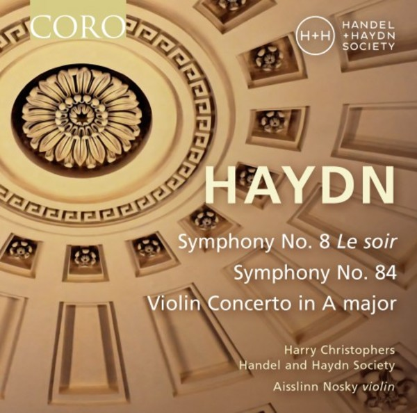 Haydn - Symphonies nos. 8 �Le soir� & 84, Violin Concerto in A major