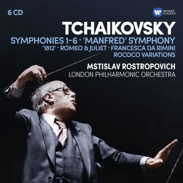 Tchaikovsky - Symphonies 1-6, 'Manfred' Symphony, Overtures, Rococo Variations | Warner 9029586924