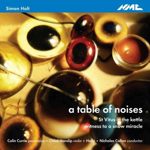 Simon Holt - a table of noises, St Vitus in the kettle, witness to a snow miracle