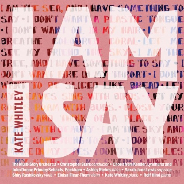 Kate Whitley - I am I say