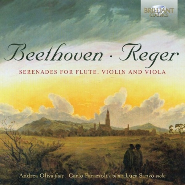 Beethoven & Reger - Serenades for Flute, Violin & Viola