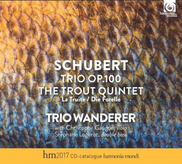 Schubert - Trio op.100, Trout Quintet (CD + Catalogue)