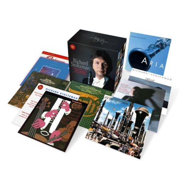 Richard Stoltzman: The Complete RCA Album Collection | Sony 88985389642