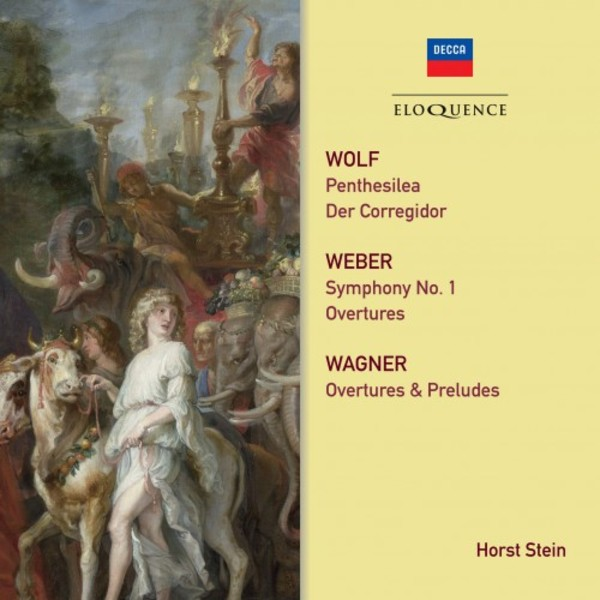 Wolf, Weber, Wagner - Orchestral Works