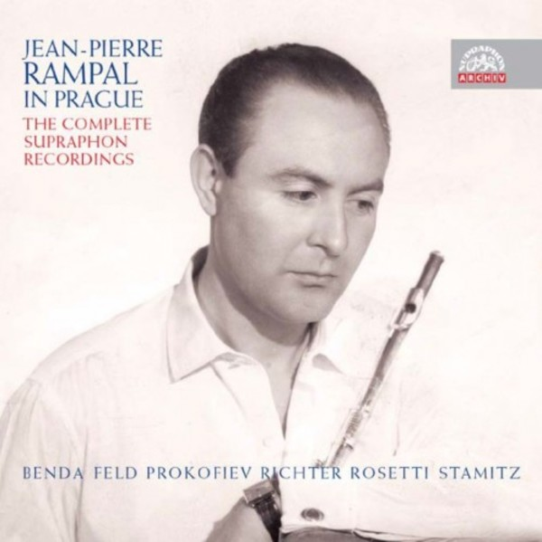 Jean-Pierre Rampal in Prague: The Complete Supraphon Recordings