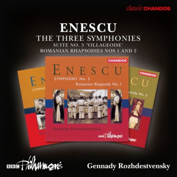 Enescu - Symphonies 1-3, Suite no.3, Romanian Rhapsodies