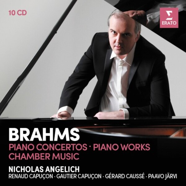 Brahms - Piano Concertos, Piano Works, Chamber Music | Erato 9029586921