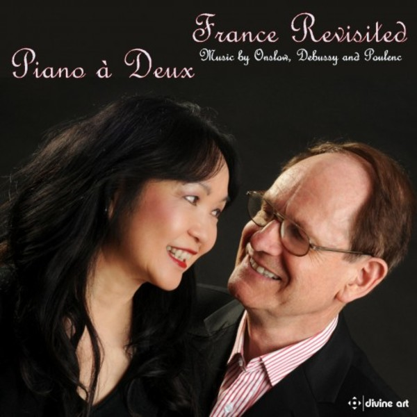 France Revisited: Music by Onslow, Debussy and Poulenc | Divine Art DDA25132