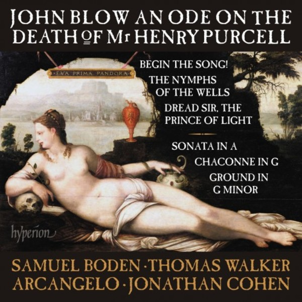 Blow - An Ode on the Death of Mr Henry Purcell & other works