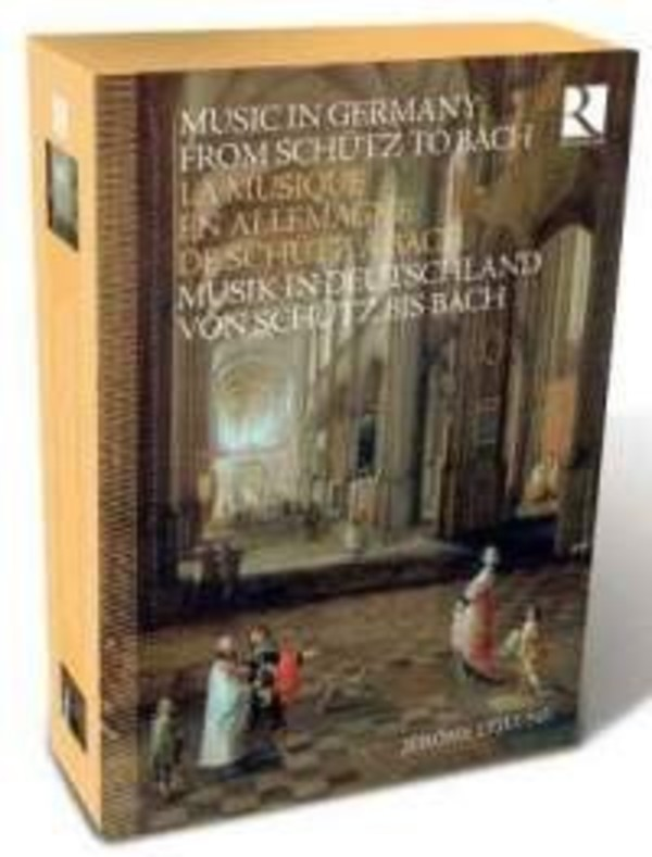 Music in Germany from Schutz to Bach (CD + Book)