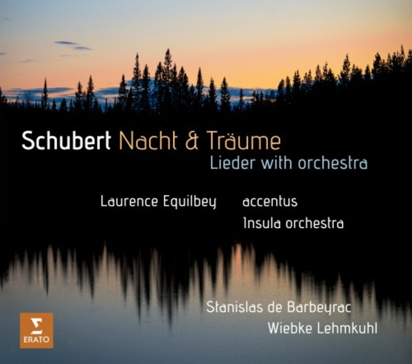 Schubert - Nacht & Traume: Lieder with orchestra