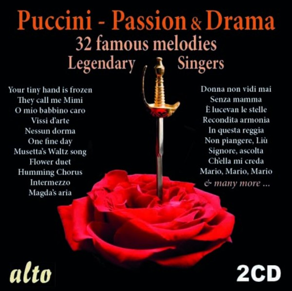 Puccini - Passion & Drama: 32 Famous Melodies