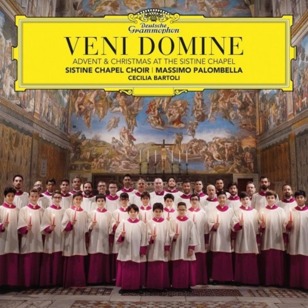 Veni Domine: Advent & Christmas Music at the Sistine Chapel
