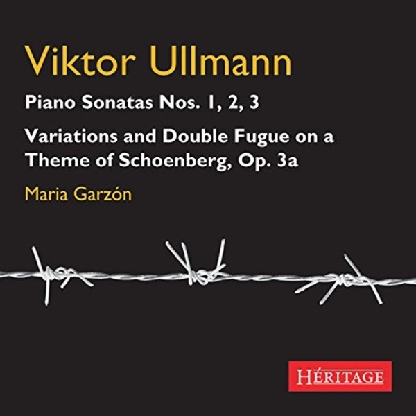 Ullmann - Piano Sonatas 1-3, Variations & Fugue on a Theme by Schoenberg