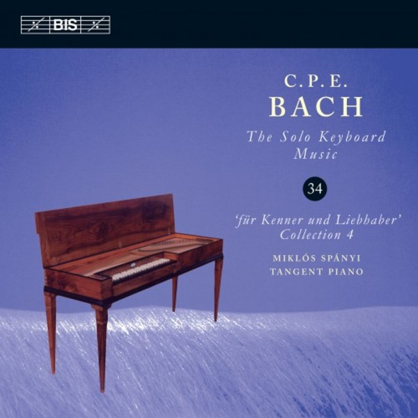 CPE Bach � Solo Keyboard Music Vol.34