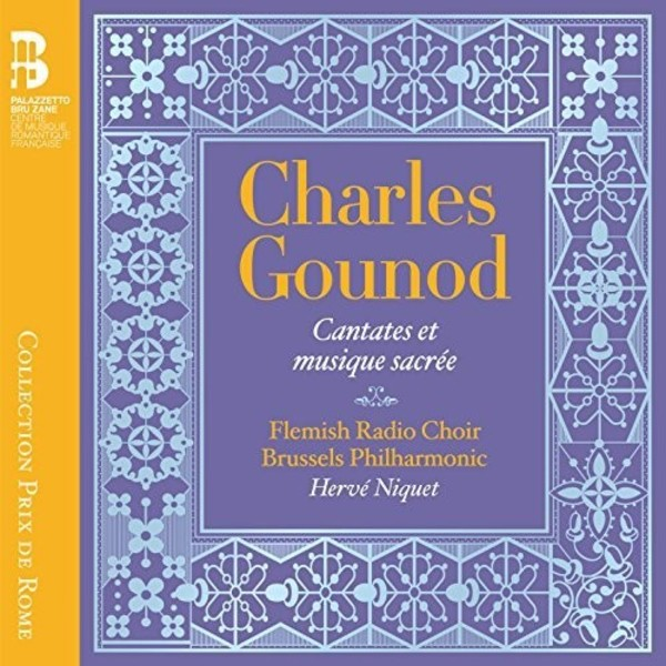 Gounod - Cantatas & Sacred Music (CD + Book)