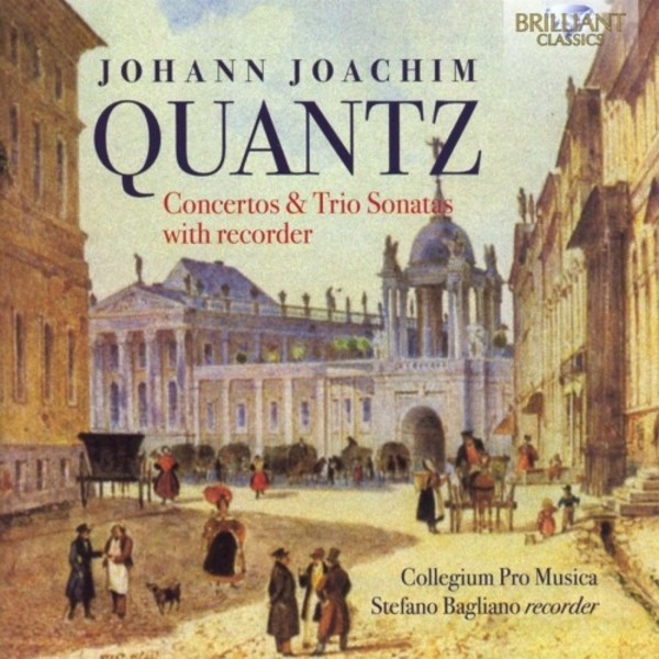 Quantz - Concertos & Sonatas with Recorder | Brilliant Classics 95386