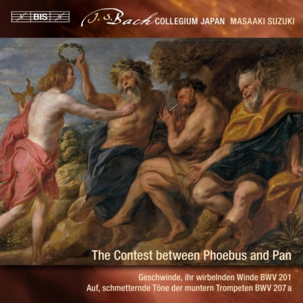 JS Bach - Secular Cantatas Vol.9: The Contest between Phoebus and Pan