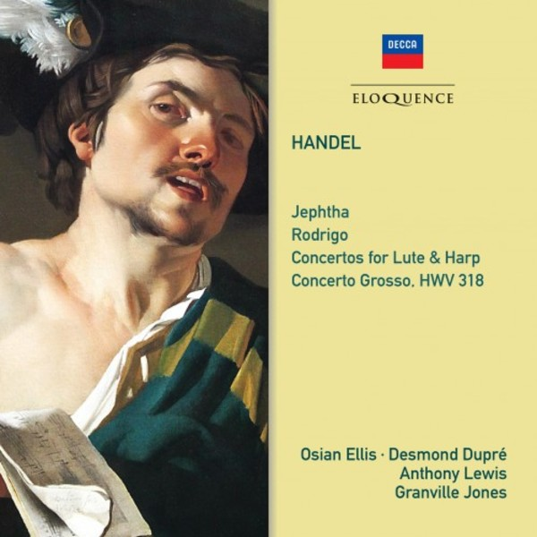 Handel - Music from Jephtha & Rodrigo, Concertos