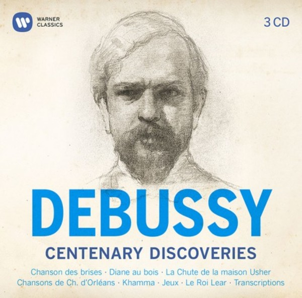 Debussy - Centenary Discoveries | Warner 9029691519