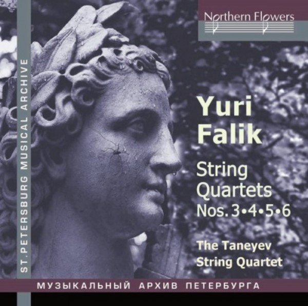 Falik - String Quartets 3-6