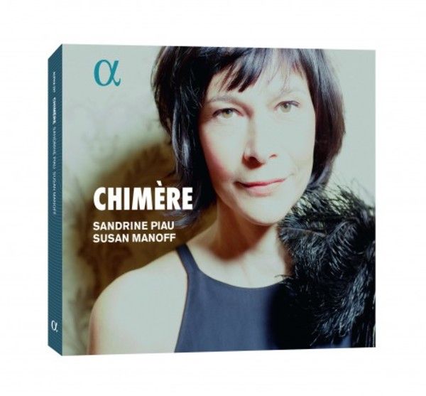 Sandrine Piau: Chimere (CD + Book)