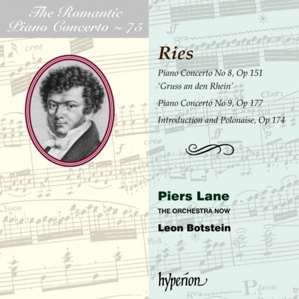 The Romantic Piano Concerto Vol.75: Ries - Piano Concertos 8 & 9