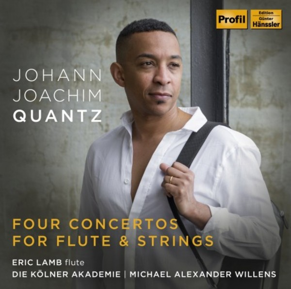 Quantz - Concertos for Flute & Strings | Profil PH18023