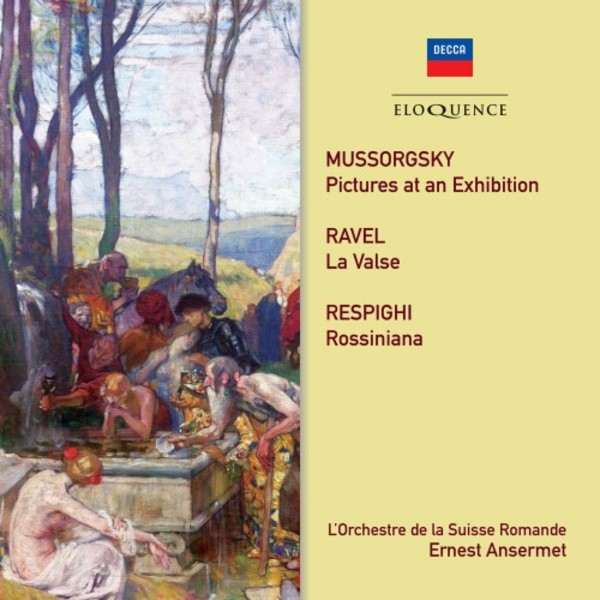 Mussorgsky, Ravel, Respighi - Orchestral Works