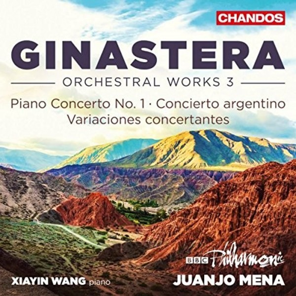 Ginastera - Orchestral Works Vol.3